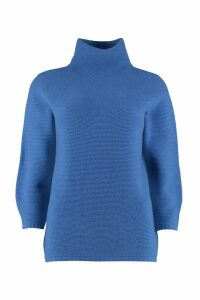 Max Mara Etrusco Turtleneck Virgin-wool Pullover