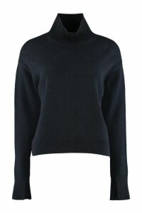 S Max Mara Tecnico Long-sleeve Wool Turtleneck