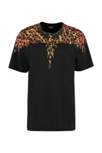 Marcelo Burlon Printed Short Sleeve Cotton T-shirt