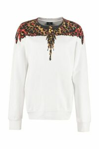 Marcelo Burlon Cotton Crew-neck Sweatshirt