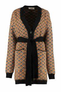 La DoubleJ Jacquard Knit Cardigan