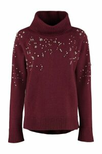 Max Mara Studio Acciuga Wool And Cashmere Pullover