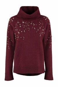 Max Mara Studio Acciuga Wool And Cashmere Pullover