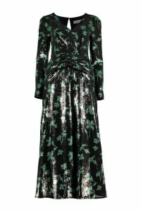 self-portrait Sequined Long Dress