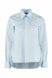 Plan C Long Sleeve Cotton Shirt