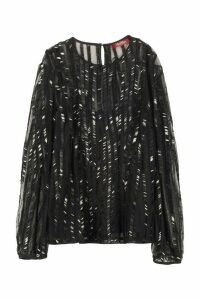 Max Mara Studio Girl Embroidered Blouse