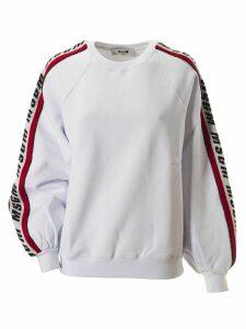 MSGM Logo Sleeved Sweatshirt
