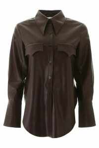 Nanushka Faux Leather Elpi Shirt