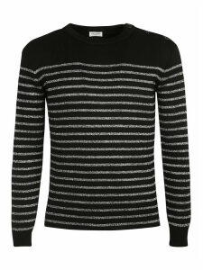 Saint Laurent Stripe Knit Jumper