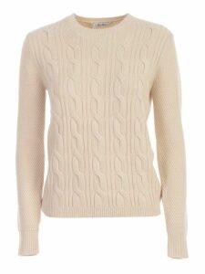 Max Mara Termoli Sweater W/braids Cashmere