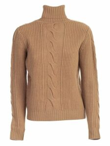 Max Mara Formia Sweater Turtle Neck Wool Cashmere