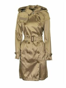 Burberry Detachable Hood Econyl® Trench Coat