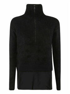 N.21 Zipped Turtleneck Sweater