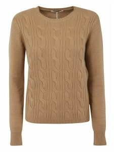 Max Mara Knit Ribbed Sweater