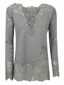 Ermanno Scervino Floral Lace Top