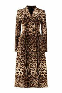 Dolce & Gabbana Velvet Double-breasted Coat