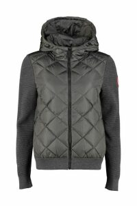 Canada Goose Hybridge Knitted Full Zip Hoodie