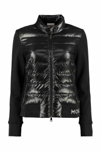 Moncler Padded Panel Full-zip Sweatshirt