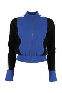 Stella McCartney Color Block Full-zip Sweatshirt