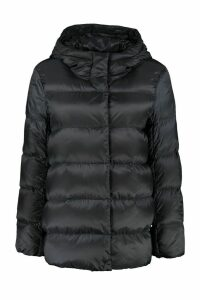 Max Mara The Cube Seicar Down Jacket With Snaps