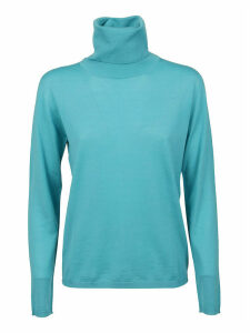 Turquoise Wool Sweater