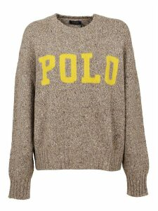 Beige Wool Sweater
