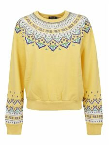 Multicolor Cotton Sweatshirt