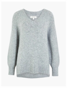 Per Una Relaxed V Neck Jumper