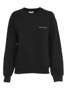 Chiara Ferragni Black Crewneck With Logo
