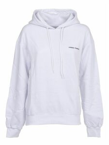 Chiara Ferragni White Hoody With Logo
