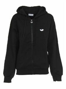 Chiara Ferragni Cotton Black Long Hoody