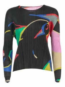 Pleats Please Issey Miyake Sweater L/s Crew Neck Relaxing