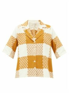 Ace & Jig - Etta Checked Cotton Shirt - Womens - Beige Multi
