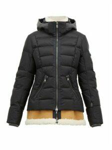 Bogner - Elya-d Shearling-insert Down-filled Jacket - Womens - Black