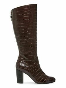 Nastya Textured Tall Boots