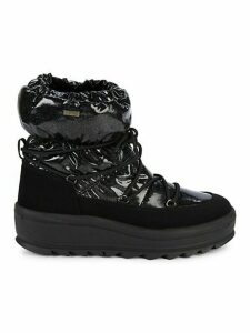 Tidy Crystal Faux Fur-Lined Winter Boots