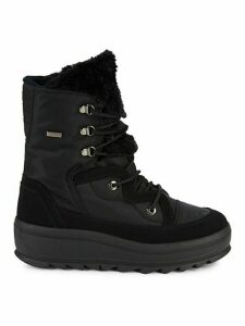 Tamey Faux Fur-Trim Winter Boots