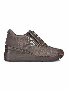 Zosma Textured Wedge Sneakers