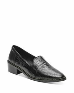 The Kooples Women's Croc-Embossed Loafers