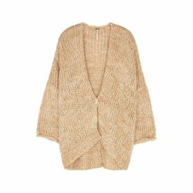 Free People Home Town Chunky-knit Cardigan