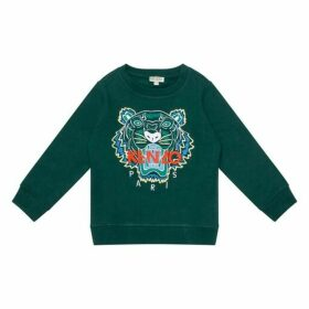 Kenzo Green Tiger Sweatshirt