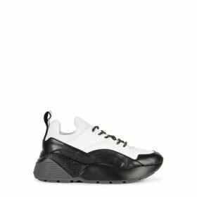 Stella McCartney Eclypse White Faux Leather Sneakers