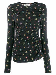 Essentiel Antwerp ruched long sleeve top - Black