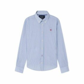 Hackett Double Stripe Cotton Shirt