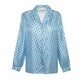 Lisou Solange Silk Comet Print Shirt