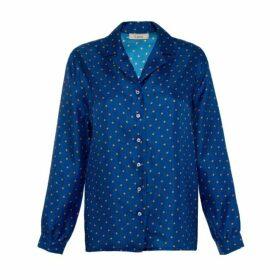 Lisou Solange Silk Star Print Shirt
