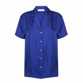 Lisou Victoire Unisex Silk Lisou Blue Shirt