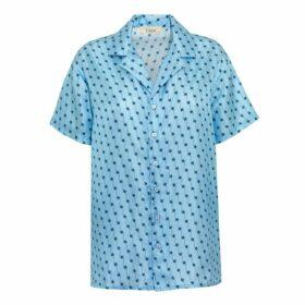 Lisou Victoire Silk Shooting Star Print Shirt