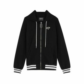 Markus Lupfer Aliza Black Cotton-jersey Sweatshirt