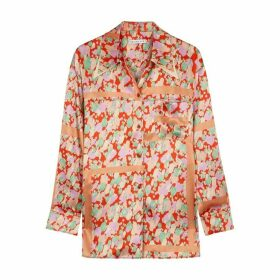 Rejina Pyo Rory Printed Satin Shirt
